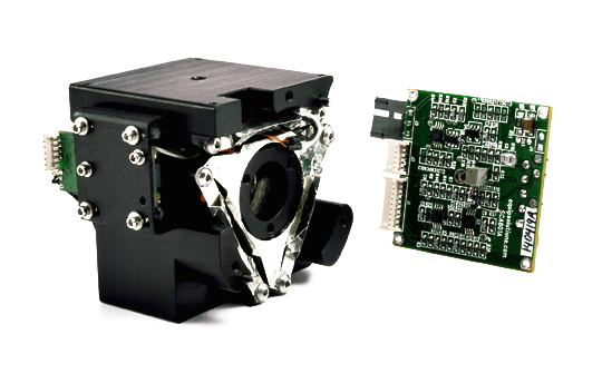 motion control linear focus actuator and amplifier